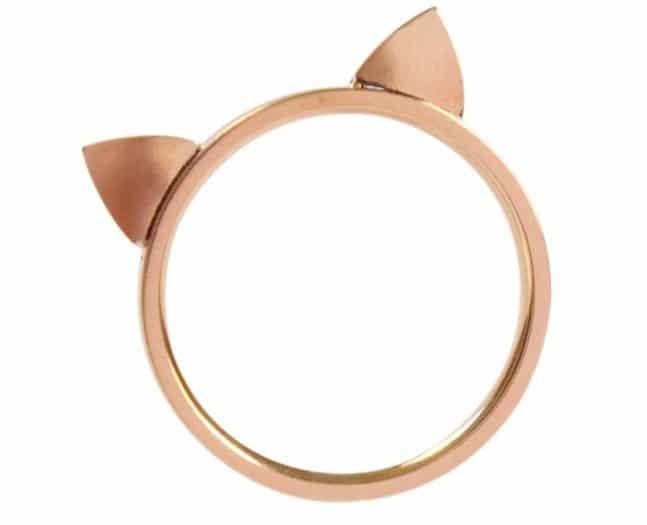 cat ring gift
