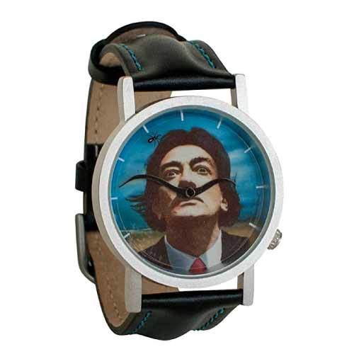 Surreal mustache watch