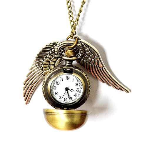 Harry Potter snitch pocket watch