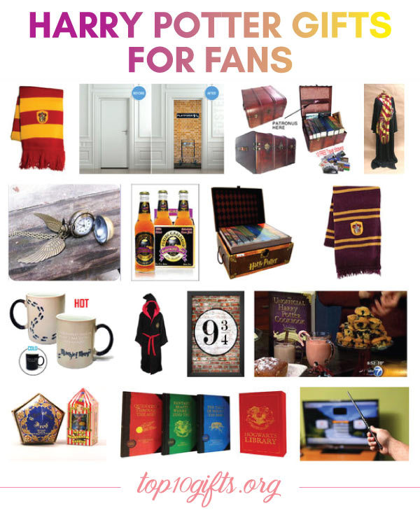 harry potter gift ideas for adult fans