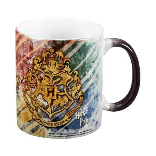 harry potter hogwart morphing heat activated mug