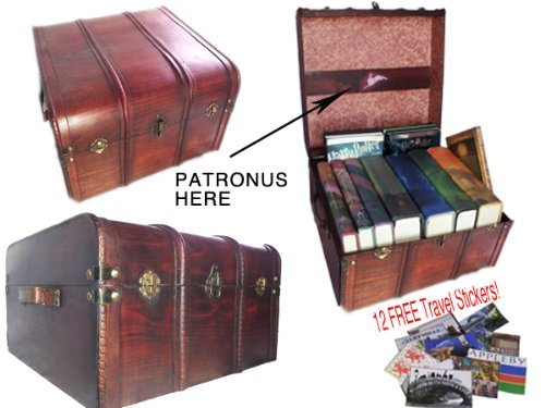 harry potter steamer trunk