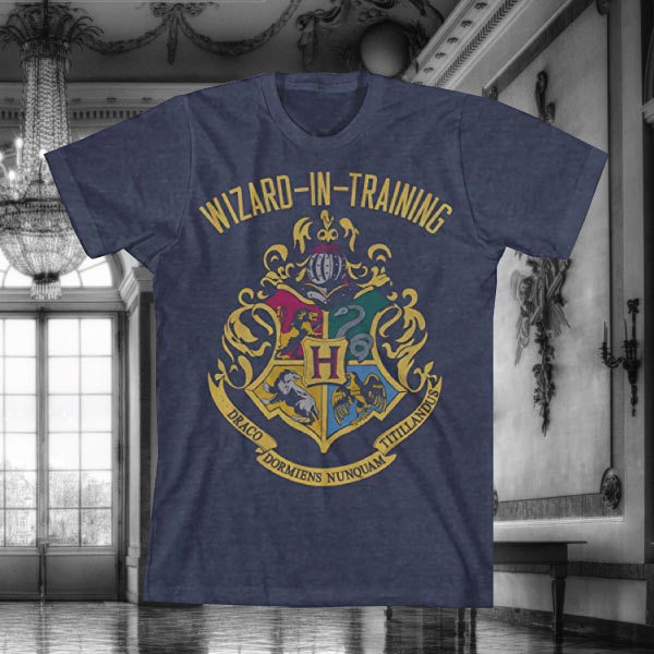 harry potter wizard-in-training t-shirt