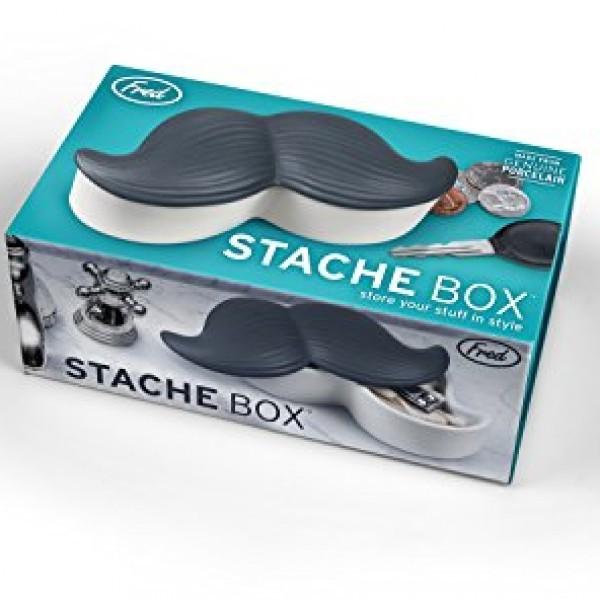 Fred-Friends-STACHE-BOX-Ceramic-Mustache-Stash-Box-0-1