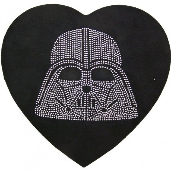 Hard-to-Find-Rare-Star-Wars-Lover-Collectible-Gift-Rhinestone-Jeweled-Darth-Vader-Head-Heart-Shape-Felt-Candy-Box-with-Reeses-Peanut-Butter-Cup-Candies-0-3