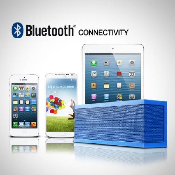 Photive-CYREN-Portable-Wireless-Bluetooth-Speaker-with-Built-in-Speakerphone-8-hour-Rechargeable-Battery-Orange-0-4