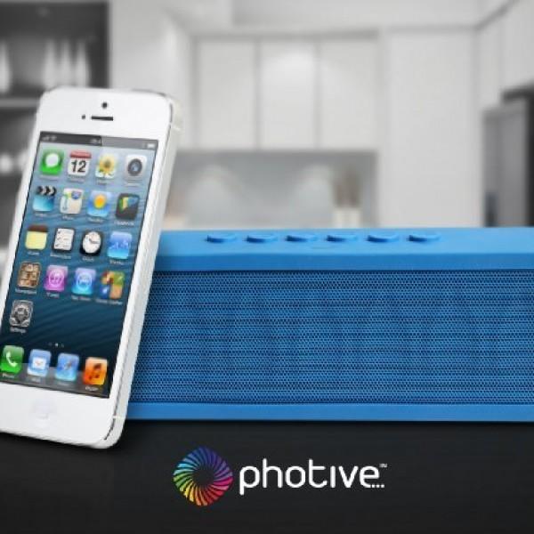 Photive-CYREN-Portable-Wireless-Bluetooth-Speaker-with-Built-in-Speakerphone-8-hour-Rechargeable-Battery-Orange-0-5