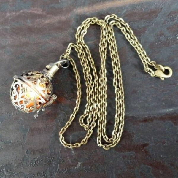 Steampunk-FIRE-necklace-pendant-charm-locket-jewelry-GREAT-GIFT-0-2
