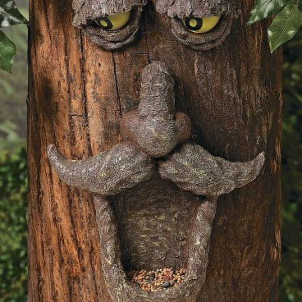 Tree-Face-Wild-Bird-Feeder-Novelty-Garden-Yard-Decor-0-0