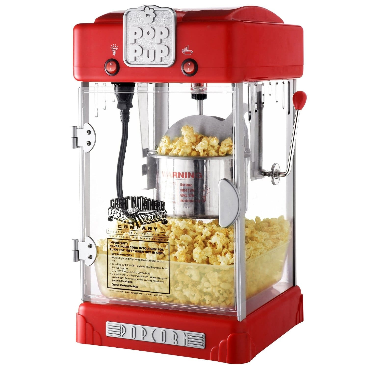 christmas gift ideas for sister - retro popcorn popper