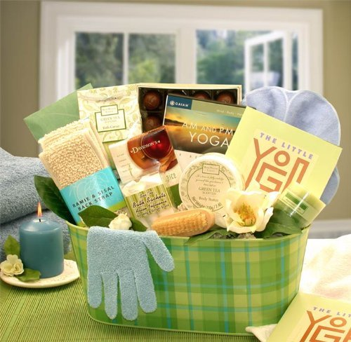 good yoga gift basket