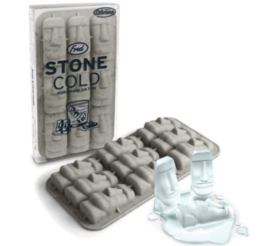 funny gift ideas for best friend - cool-gifts-easter-island-ice-tray