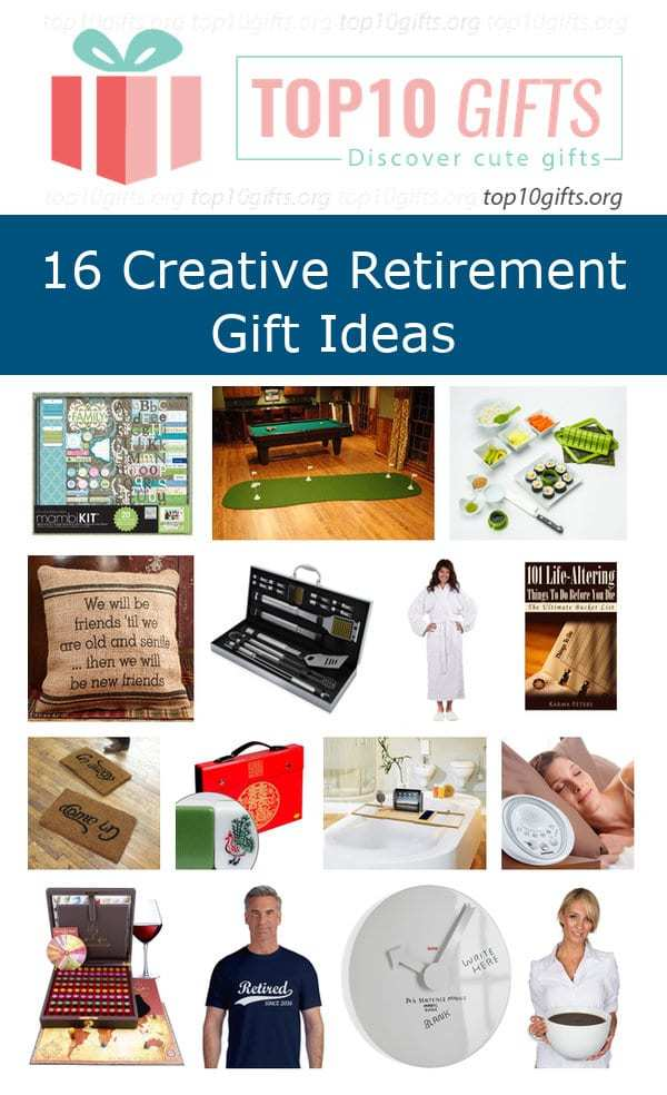 Top 15 Creative Retirement Gifts Ideas For Family Coworkers