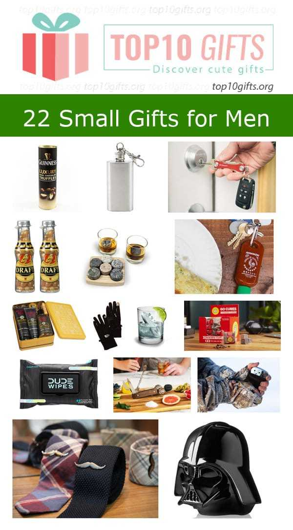 affordable and small gift ideas for men