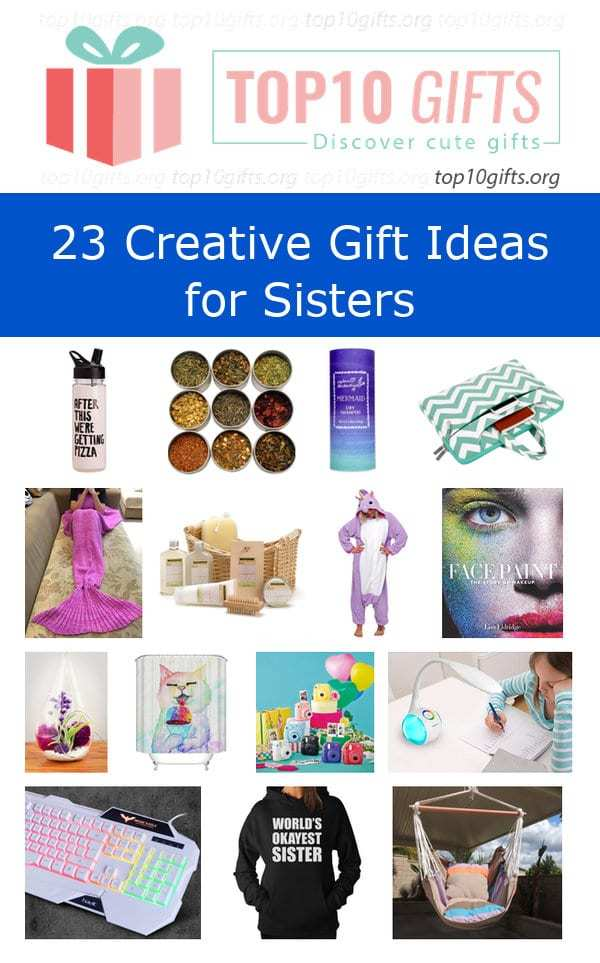 Unicorn Pajamas. creative gifts for sisters Share  sc 1 st  Top10Gifts.Org & Best 30th Birthday Gift Ideas for Sisters