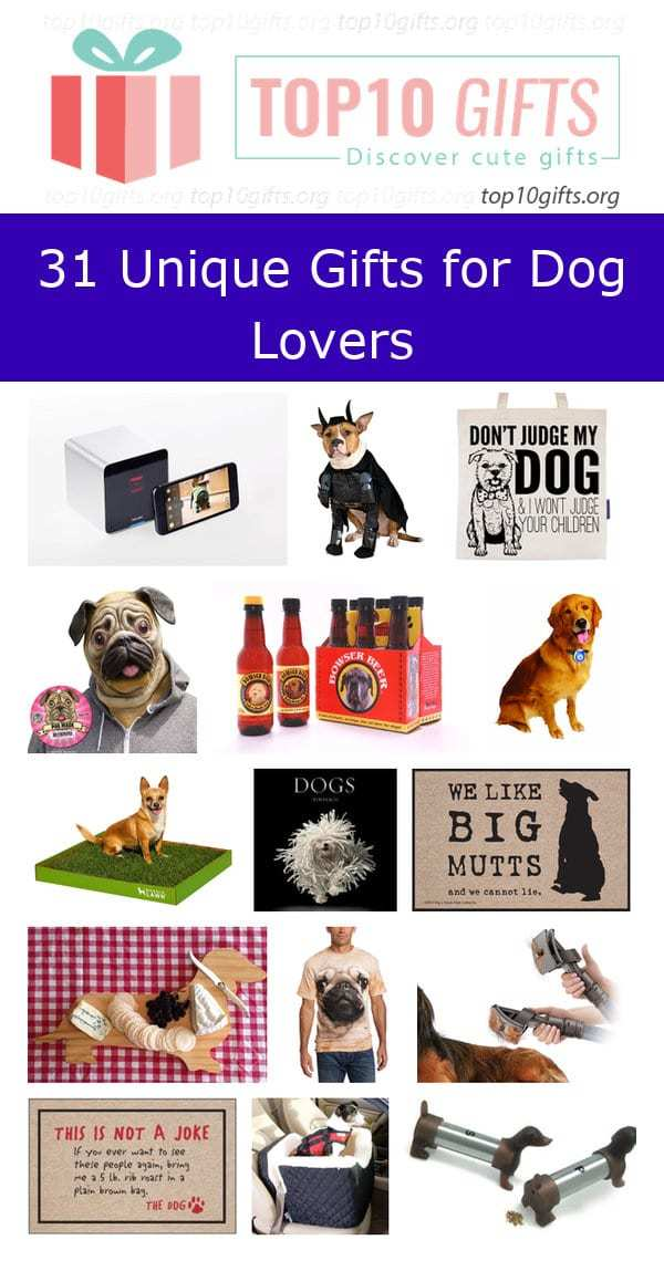 31 Unique Birthday Gift Ideas For Dog Lovers Top10gifts