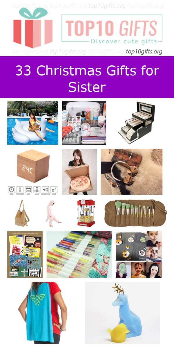30 Unique Christmas Gifts for Sister | Gift Ideas for Siblings