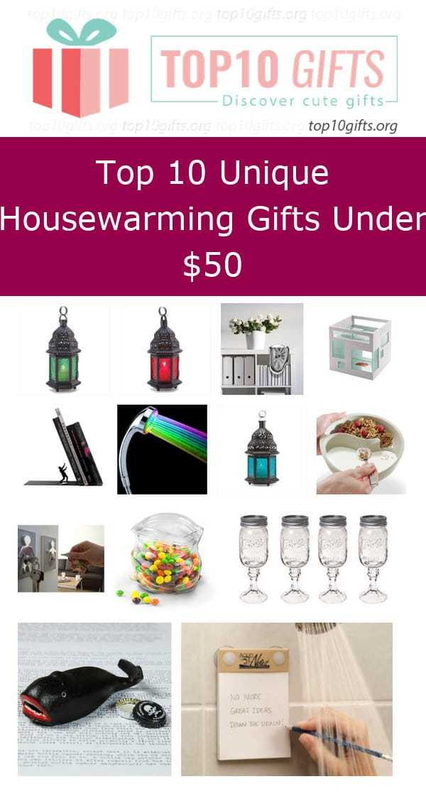 Top 10 Unique Housewarming Gifts Under 50
