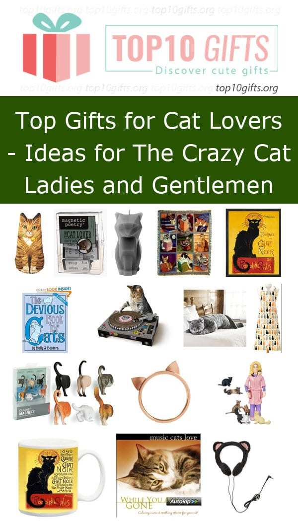 Do You Have A Cat Lover In Your Life Who Has Birthday Coming Up Check Out Our Gift Guide For Lovers All Of Them Guaranteed To Brighten Any