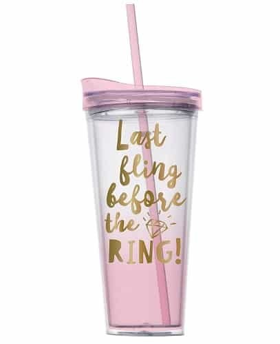 last fling before the ring tumbler - naughty gifts for bride