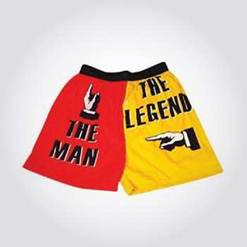 The man the legend boxers