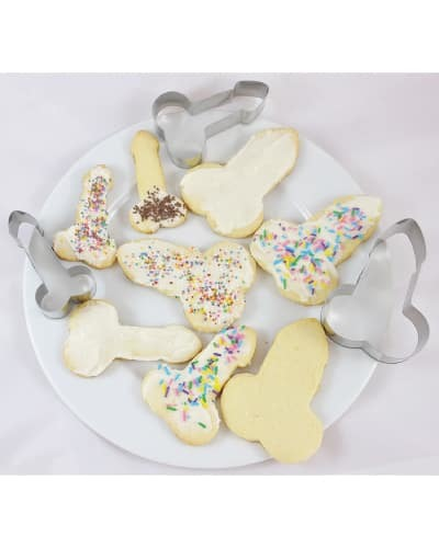 bachelorette party cookie cutters - naughty gifts for bride