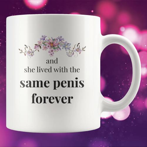 Same Penis Forever Funny Wedding Mug