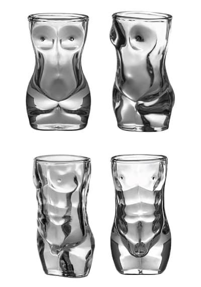Hot Body Shape Shot Glass