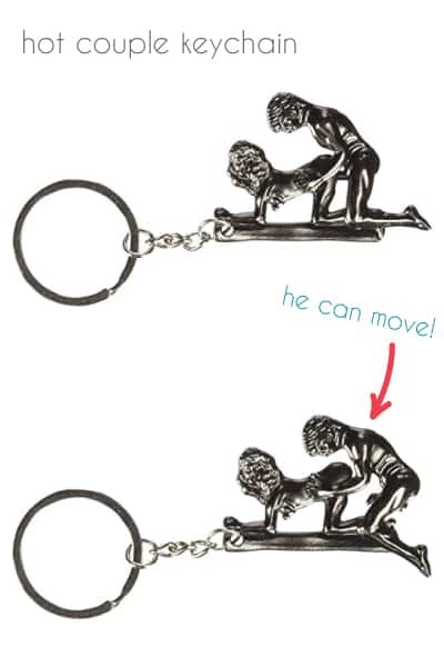 Adult Game Keychain
