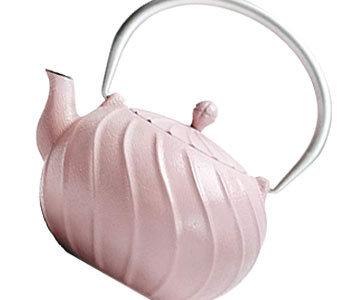 Pastel tea pot