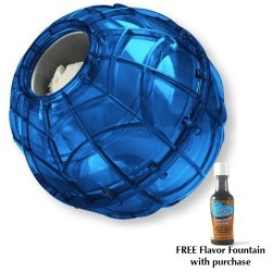 Blue Quart Size Play and Freeze Ice Cream Ball with two free flavor fountains