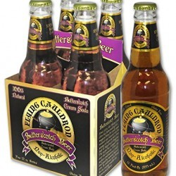 Flying Cauldron Butterscotch Beer – (12 Pack)
