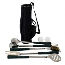 Golf BBQ Tools – 7 Piece Golf Grip Grilling Set