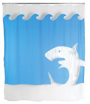 Kikkerland-Jaws-Shower-Curtain-72-Inch-by-72-Inch-0