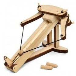 Miniature Ballista Kit – Wooden Desktop Warfare Ballista