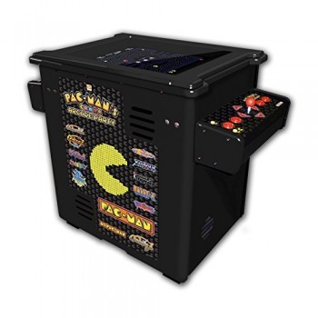 Namco-Pac-Mans-Arcade-Party-Cocktail-Game-with-Black-Cabinet-0