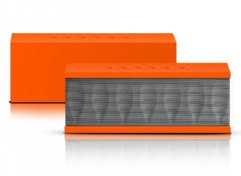 Photive-CYREN-Portable-Wireless-Bluetooth-Speaker-with-Built-in-Speakerphone-8-hour-Rechargeable-Battery-Orange-0
