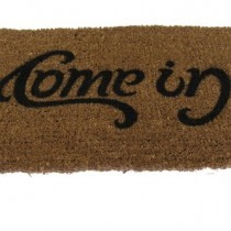 SUCK UK Ambigram Door Mat – Come in, Go Away