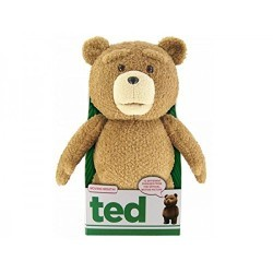 Ted 16″ Plush with Sound & Moving Mouth, R-Rated, 12 Phrases