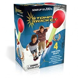 The Original Stomp Rocket: Ultra 4-Rocket (20008)