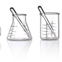 ThinkGeek Laboratory Shot Glasses
