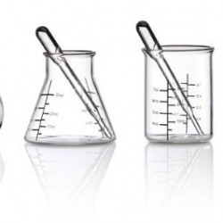 ThinkGeek Laboratory Shot Glasses